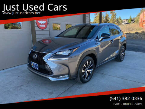 2017 Lexus NX 200t for sale at Just Used Cars in Bend OR