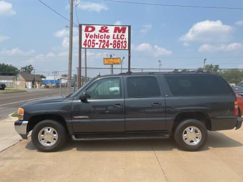 2003 GMC Yukon XL for sale at D & M Vehicle LLC in Oklahoma City OK