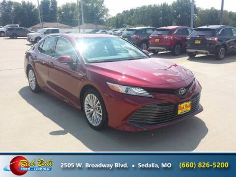 2019 Toyota Camry for sale at RICK BALL FORD in Sedalia MO