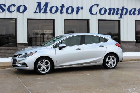 2017 Chevrolet Cruze for sale at Cresco Motor Company in Cresco IA