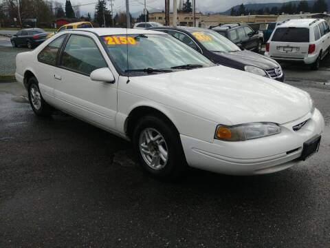 1996 Ford Thunderbird for sale at Low Auto Sales in Sedro Woolley WA