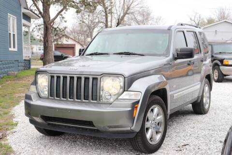 2012 Jeep Liberty for sale at JE AUTO SALES LLC in Webb City MO