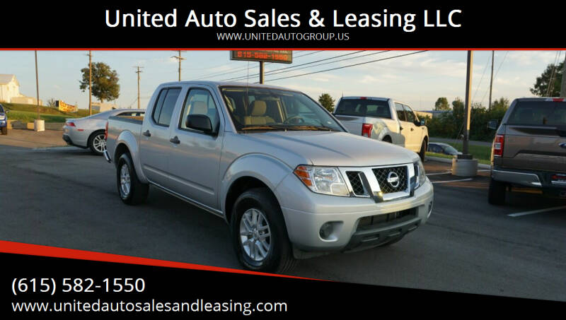2019 Nissan Frontier for sale at United Auto Sales & Leasing LLC in La Vergne TN