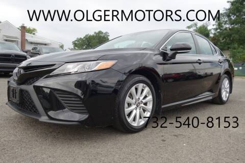 2018 Toyota Camry for sale at Olger Motors, Inc. in Woodbridge NJ