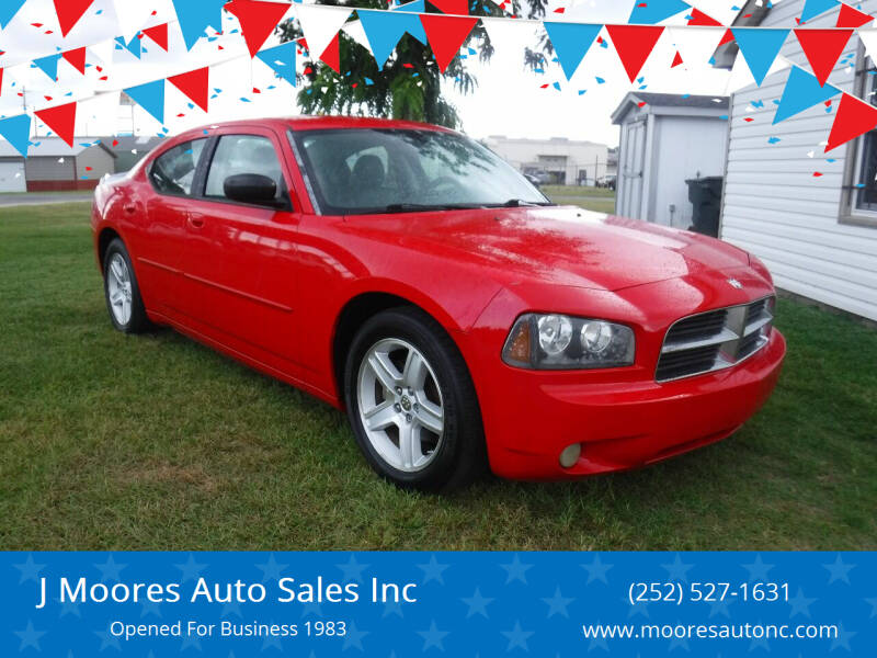 2008 Dodge Charger for sale at J Moores Auto Sales Inc in Kinston NC