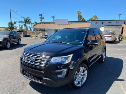2017 Ford Explorer for sale at SD Motors Inc in La Mesa CA