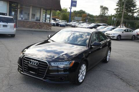 2014 Audi A6 for sale at Zoom Auto Group in Parsippany NJ