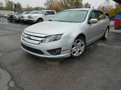 2011 Ford Fusion for sale at Cruisin' Auto Sales in Madison IN