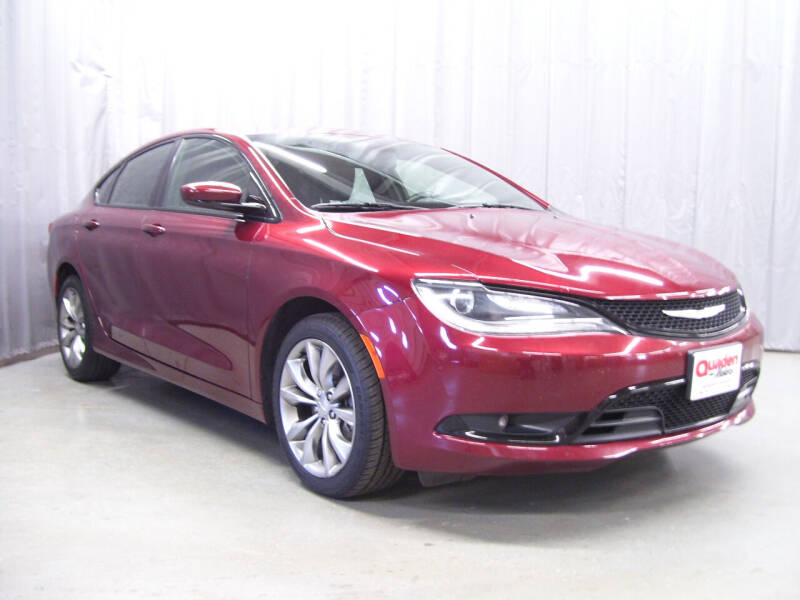2016 Chrysler 200 for sale at QUADEN MOTORS INC in Nashotah WI