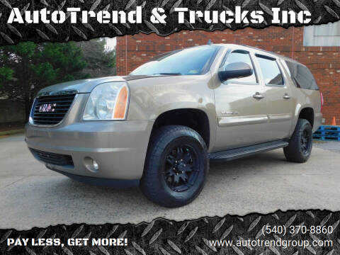 2007 GMC Yukon XL for sale at AutoTrend & Trucks Inc in Fredericksburg VA