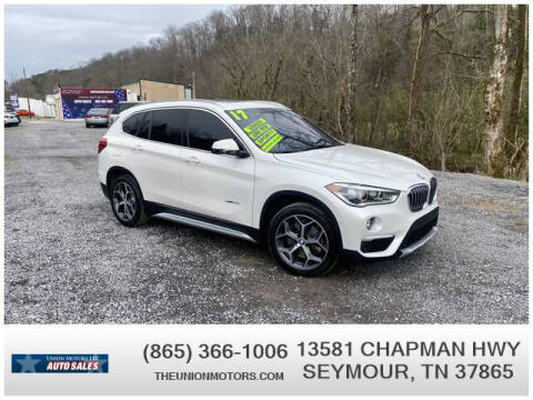 2017 BMW X1 for sale at Union Motors in Seymour TN