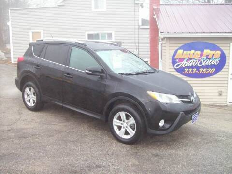 2013 Toyota RAV4 for sale at Auto Pro Auto Sales-797 Sabattus St. in Lewiston ME