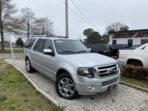 2014 Ford Expedition EL for sale at Beach Auto Brokers in Norfolk VA