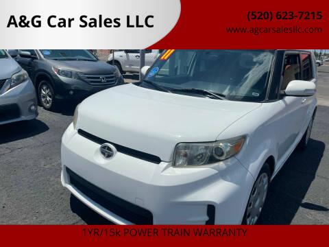 2011 Scion xB for sale at A&G Car Sales  LLC in Tucson AZ