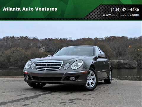 2008 Mercedes-Benz E-Class for sale at Atlanta Auto Ventures in Roswell GA