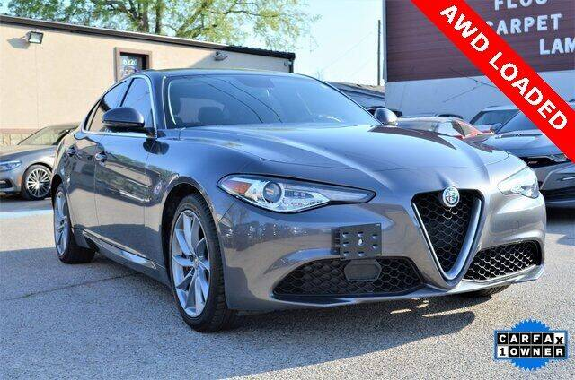 2017 Alfa Romeo Giulia for sale at LAKESIDE MOTORS, INC. in Sachse TX