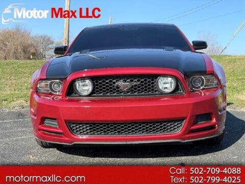 2013 Ford Mustang for sale at Motor Max Llc in Louisville KY