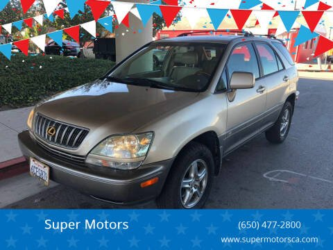 2002 Lexus RX 300 for sale at Super Motors in San Mateo CA