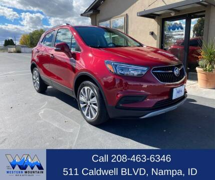 2019 Buick Encore for sale at Western Mountain Bus & Auto Sales in Nampa ID