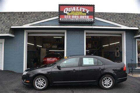 2010 Ford Fusion for sale at Quality Pre-Owned Automotive in Cuba MO