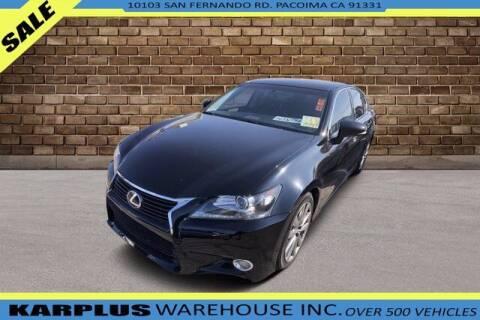 2014 Lexus GS 350 for sale at Karplus Warehouse in Pacoima CA