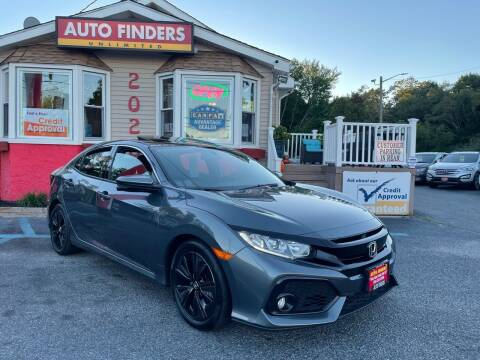 2018 Honda Civic for sale at Auto Finders Unlimited LLC in Vineland NJ