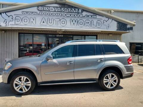 2011 Mercedes-Benz GL-Class for sale at Don Auto World in Houston TX