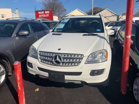 2008 Mercedes-Benz M-Class for sale at Park Avenue Auto Lot Inc in Linden NJ