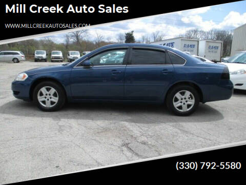2006 Chevrolet Impala for sale at Mill Creek Auto Sales in Youngstown OH