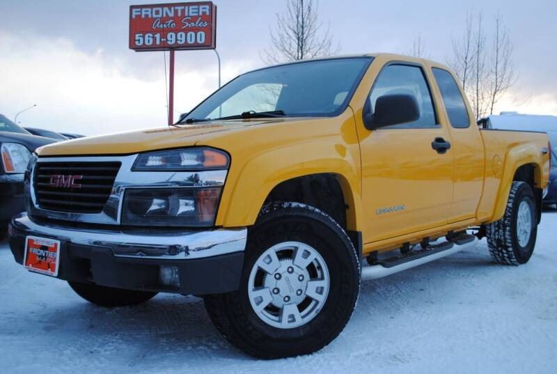 2005 GMC Canyon for sale at Frontier Auto & RV Sales in Anchorage AK
