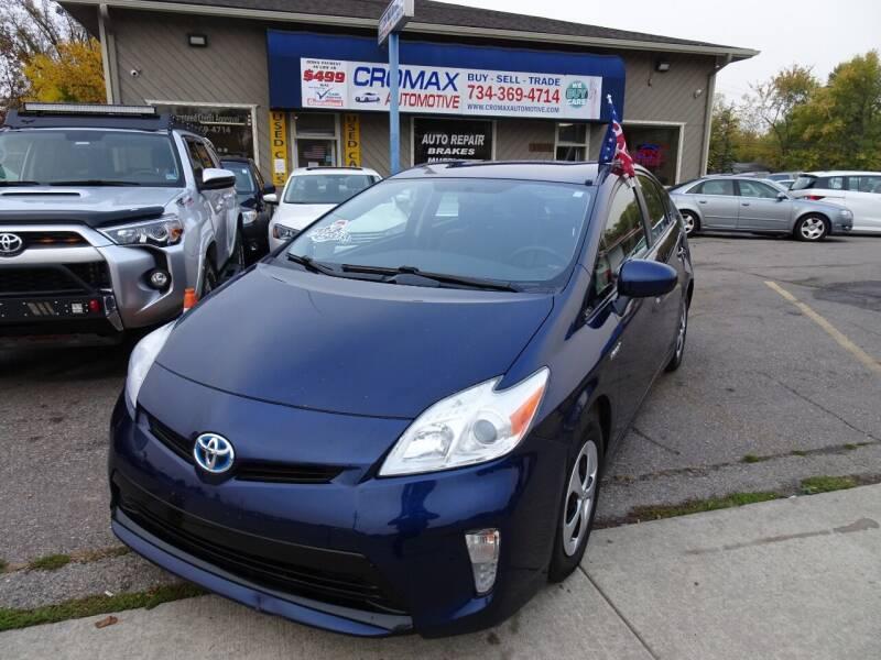 2014 Toyota Prius for sale at Cromax Automotive in Ann Arbor MI