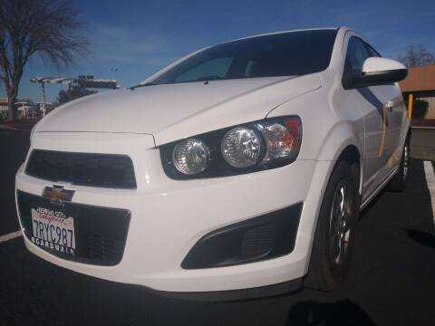 2016 Chevrolet Sonic for sale at AutoDistributors Inc in Fulton CA
