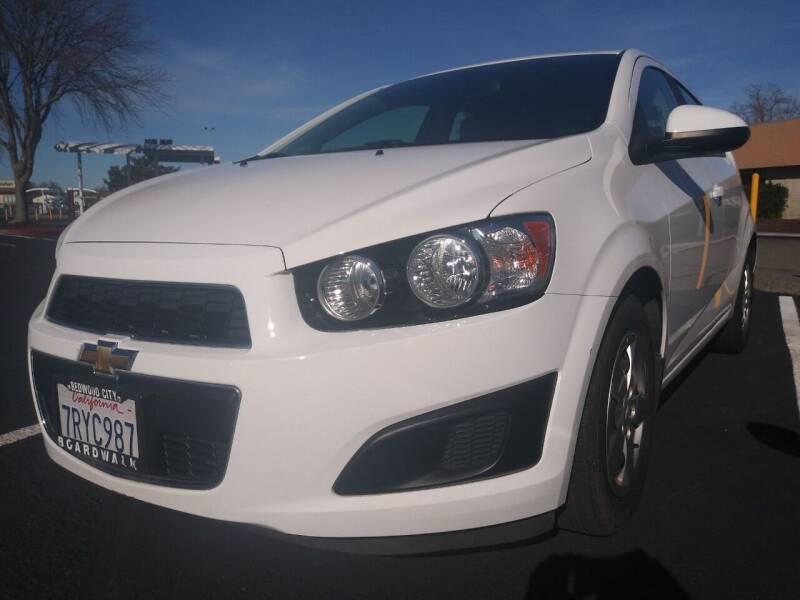 2016 Chevrolet Sonic for sale at AutoDistributors Inc in Fulton CA