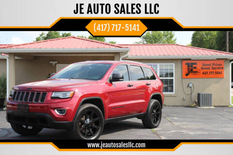 2014 Jeep Grand Cherokee for sale at JE AUTO SALES LLC in Webb City MO
