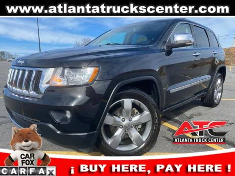 2013 Jeep Grand Cherokee for sale at ATLANTA TRUCK CENTER LLC in Brookhaven GA
