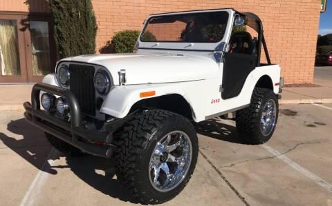 1980 Jeep CJ-5 for sale at Freedom  Automotive in Sierra Vista AZ