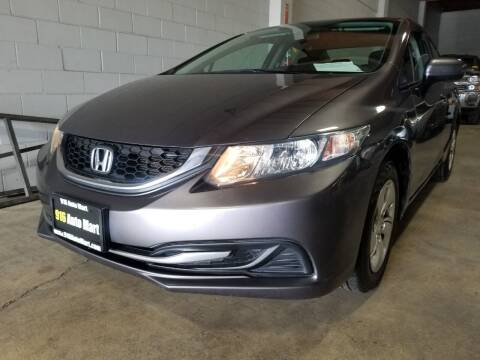 2015 Honda Civic for sale at 916 Auto Mart ONLY $399 DOWN!!!* in Sacramento CA