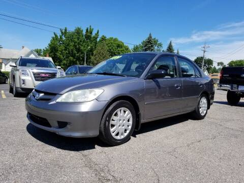 2005 Honda Civic for sale at DALE'S AUTO INC in Mt Clemens MI