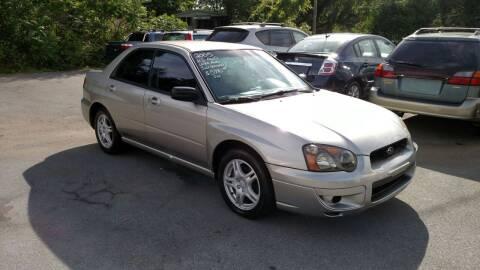 2005 Subaru Impreza for sale at DISCOUNT AUTO SALES in Johnson City TN