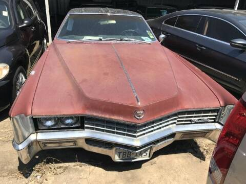 1967 Cadillac Eldorado for sale at SARCO ENTERPRISE inc in Houston TX