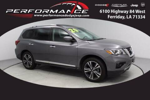 2020 Nissan Pathfinder for sale at Auto Group South - Performance Dodge Chrysler Jeep in Ferriday LA