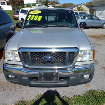 2005 Ford Ranger for sale at BRAUNS AUTO SALES in Pottstown PA