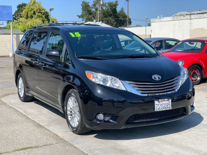 2015 Toyota Sienna for sale at H & K Auto Sales & Leasing in San Jose CA