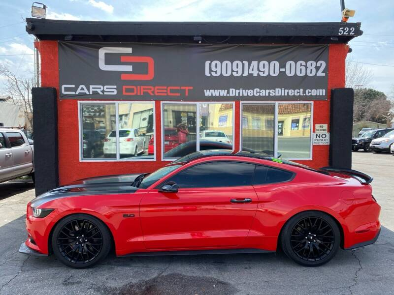 2016 Ford Mustang for sale at Cars Direct in Ontario CA