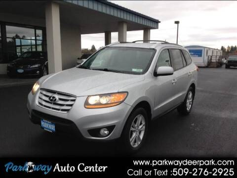 2011 Hyundai Santa Fe for sale at PARKWAY AUTO CENTER AND RV in Deer Park WA