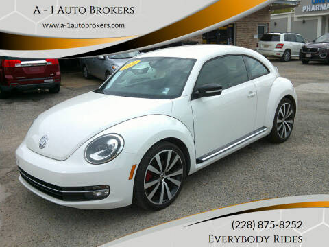 2012 Volkswagen Beetle for sale at A - 1 Auto Brokers in Ocean Springs MS
