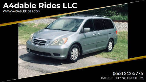 2009 Honda Odyssey for sale at A4dable Rides LLC in Haines City FL