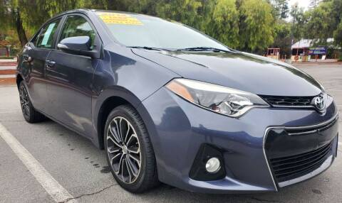 2014 Toyota Corolla for sale at ALL CREDIT AUTO SALES in San Jose CA