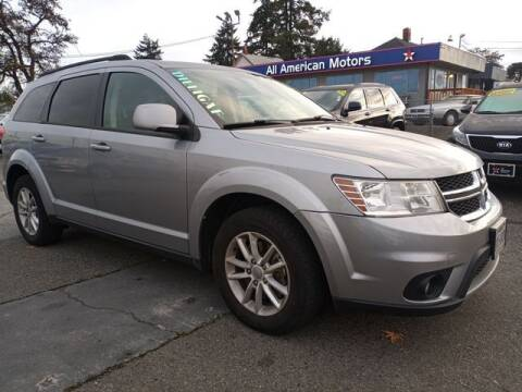 2015 Dodge Journey for sale at All American Motors in Tacoma WA