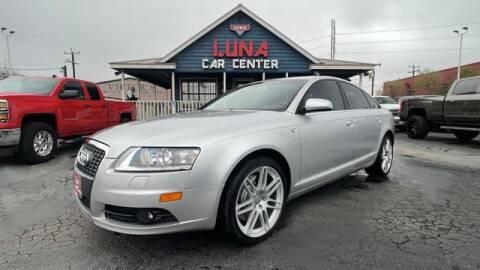 2008 Audi A6 for sale at LUNA CAR CENTER in San Antonio TX